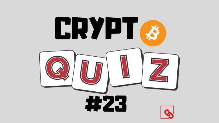 CRYPTO QUIZ EPISODE:23